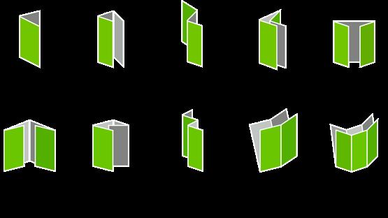 Available Brochure Folds