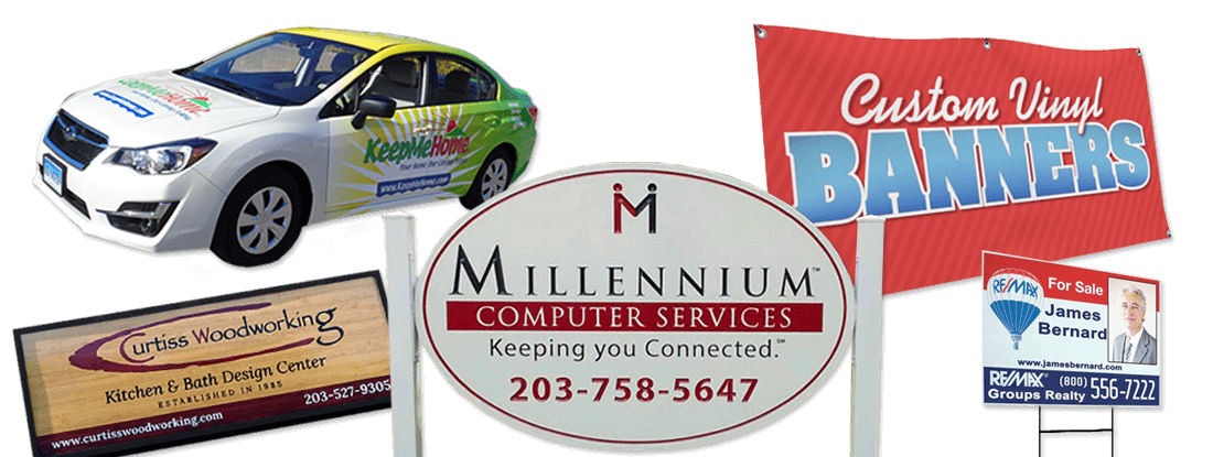 Signs and Vehicle Wraps, East Haven, CT.